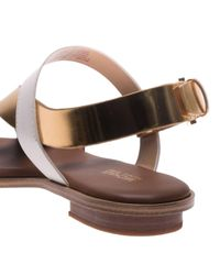 MICHAEL Michael Kors - Brown Flat Sandals Shoes Women - Lyst
