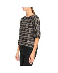 Armani Jeans - Black Sweater Women - Lyst