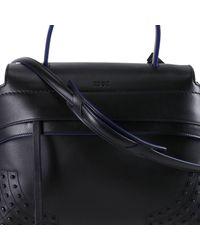 Tod's - Black Handbag Women - Lyst