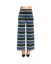 Twin Set - Blue Pants Women - Lyst