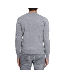 Armani Jeans - Gray Sweater Men for Men - Lyst