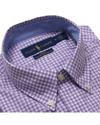 Polo Ralph Lauren - Purple Shirt Men for Men - Lyst