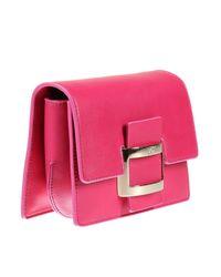 Roger Vivier - Gray Mini Bag Handbag Woman - Lyst