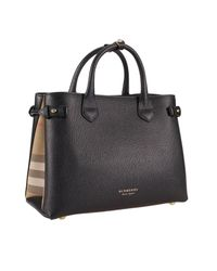 Burberry Black Shoulder Bag Women