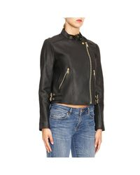MICHAEL Michael Kors - Black Jacket Women - Lyst