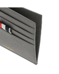 Thom Browne - Gray Wallet Men for Men - Lyst
