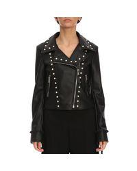Twin Set - Black Jacket Women - Lyst