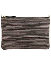 M Missoni - Black Clutch Shoulder Bag Women - Lyst