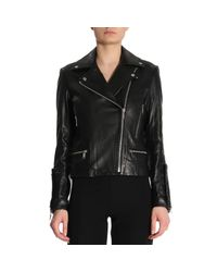 MICHAEL Michael Kors - Black Jacket Women - Lyst