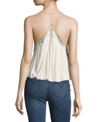 Free People - White Island Time Top - Lyst