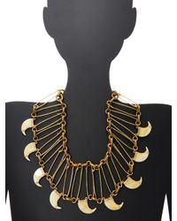 Lulu Frost - Metallic Cleo Statement Necklace - Lyst