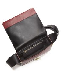 3.1 Phillip Lim - Black Alix Leather Shoulder Bag - Lyst