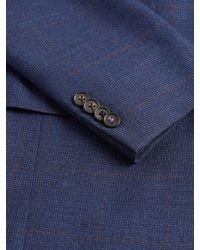 Ted Baker - Blue Mini Check Sport Coat for Men - Lyst