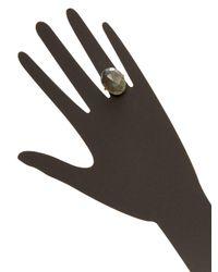 Alanna Bess Jewelry - Gray Labradorite Single Ring - Lyst