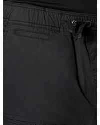 Hudson | Black Gunner Drawstring Cargo Pants for Men | Lyst