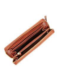 Cole Haan - Black Leather Weave Wallet - Lyst