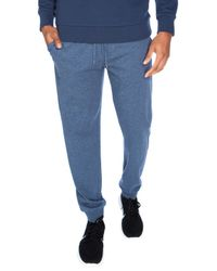 Unsimply Stitched | Blue Lightweight Cotton Jersey Cuffed Lounge Pants for Men | Lyst