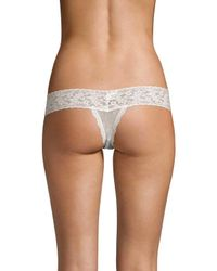 Hanky Panky - Multicolor Shimmer Emma Low-rise Thong - Lyst