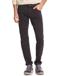 Billy Reid Black Ashland Cotton Jeans for men
