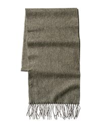 Portolano - Green Men's Woven Cashmere Scarf for Men - Lyst