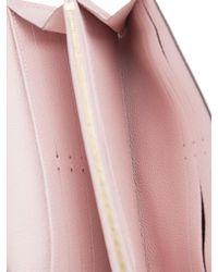 Louis Vuitton - Pink Rose Ballerine Empreinte Leather New Sarah - Lyst