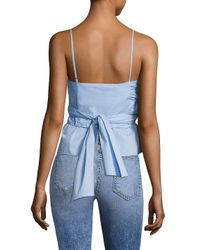 Elizabeth and James - White Montgomery Top - Lyst