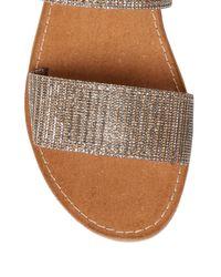 Seychelles - Brown Two-strap Flat Sandal - Lyst