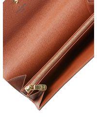 Louis Vuitton - Brown Vintage Monogram A Sarah Wallet - Lyst