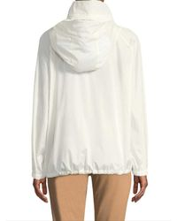 Akris - White Dearest Silk Coat - Lyst