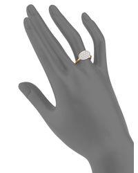 Marco Bicego   Metallic Lunaria Diamond & 18k Gold Ring   Lyst