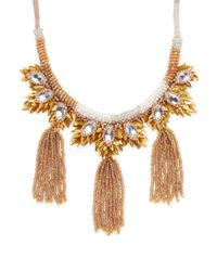 Deepa Gurnani - Metallic Karly Statement Necklace - Lyst