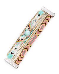Hipanema - Multicolor Cardamine Friendship Bracelet - Lyst