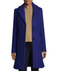 T Tahari - Blue Tessa Wool-blend Jacket - Lyst