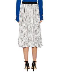 2b8d56d9fb Lyst - Prabal Gurung Jersey Pleated Skirt