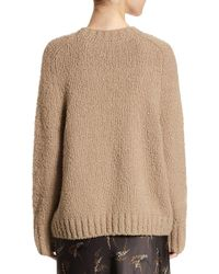 Vince Brown Saddle Wool Pullover