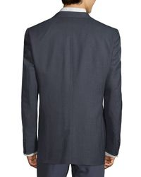 CALVIN KLEIN 205W39NYC - Blue Mini Checkered Wool Sportcoat for Men - Lyst