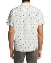 Life After Denim - White Tidal Cotton Sportshirt for Men - Lyst