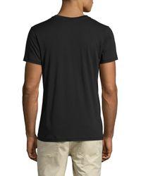Alternative Apparel - Black Perfect V-neck Short Sleeve T-shirt for Men - Lyst