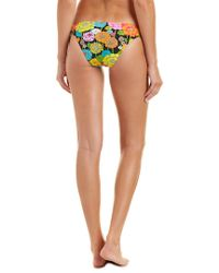 Trina Turk Black Santiago California Hipster Bikini Bottom
