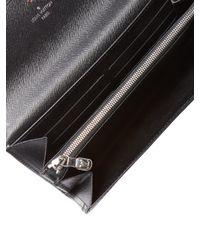 Louis Vuitton - Vintage Black Epi Sarah Wallet - Lyst