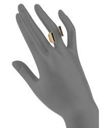 Vita Fede - Metallic Yasue Double Onyx Lia Ring - Lyst