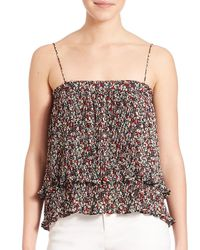 10 Crosby Derek Lam - Multicolor Pleated Two-in-one Camisole & Skirt - Lyst