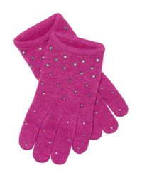 Portolano - Purple Gloves - Lyst