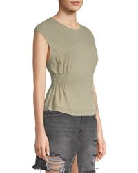 Free People Green May Knit Top