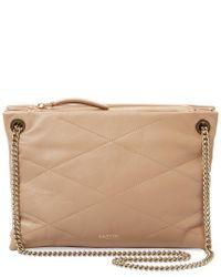 Lanvin - Multicolor Sugar Small Leather Shoulder Bag - Lyst