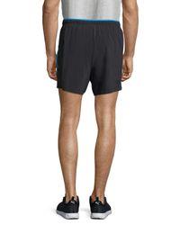 New Balance - Black Impact Track Shorts for Men - Lyst