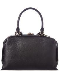 Givenchy - Black Medium Sway Leather Shoulder Bag - Lyst