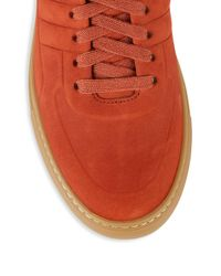 Bally - Multicolor Hendal High-top Suede Sneakers for Men - Lyst