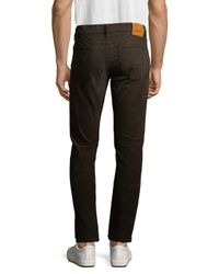 Tom Ford - Brown Cord Solid Slim Jeans for Men - Lyst