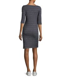 Saint James - Blue Propriano Two Striped Sheath Dress - Lyst